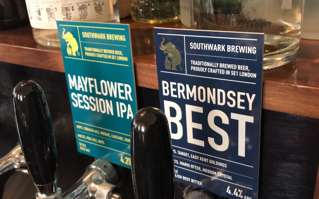 Launching Southwark Brewery Beers!